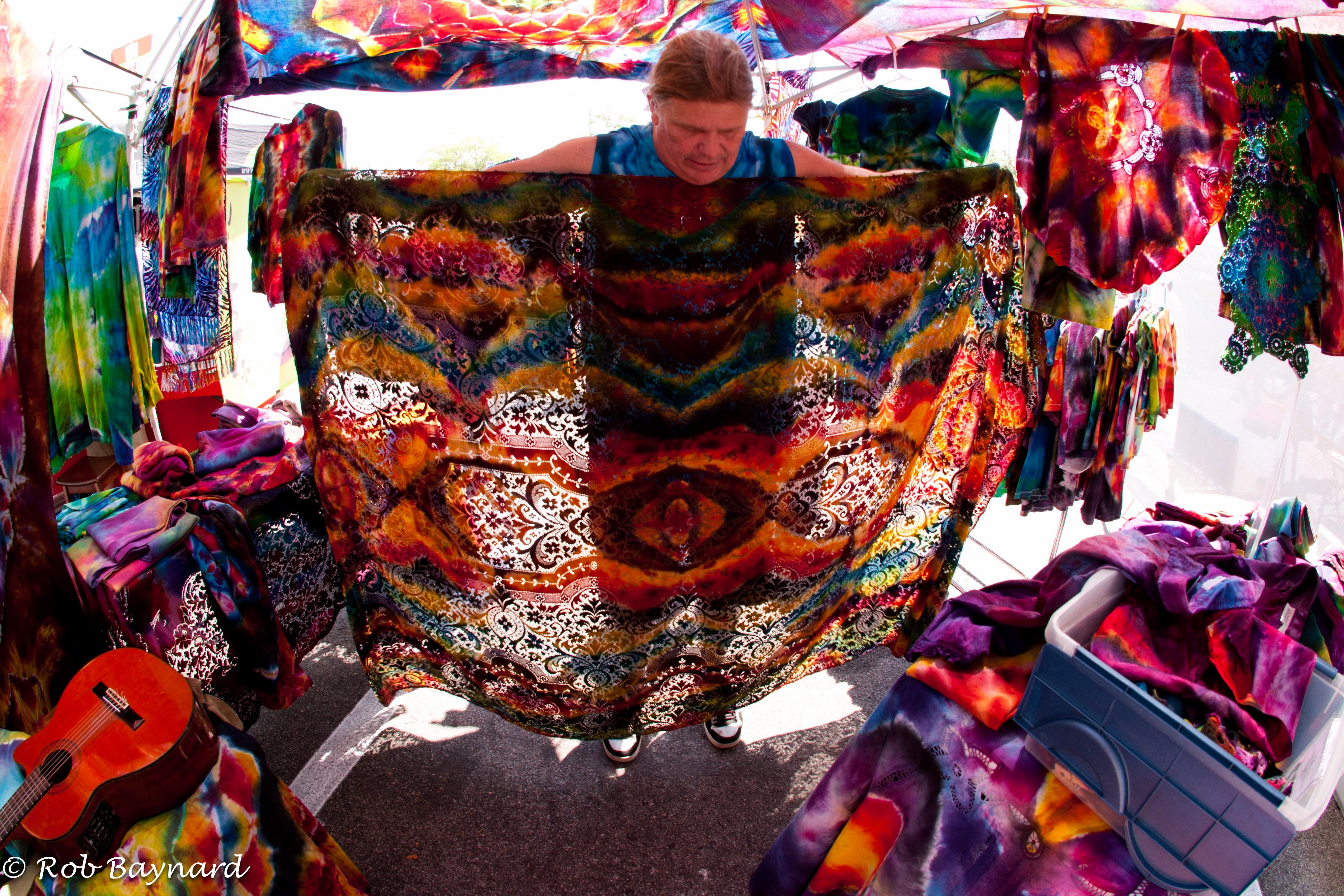 tie dyed economics fresh florida